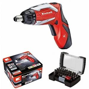 Cacciavite avvitatore a batteria con kit inserti Einhell TE-SD 3,6 Li Kit - 4513495