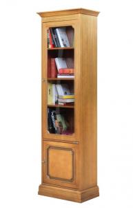 Vitrina librería ahorra espacio 1 puerta