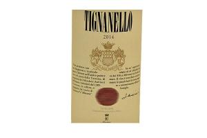 Vino Rosso Tignanello Toscana Antinori IGT 2017