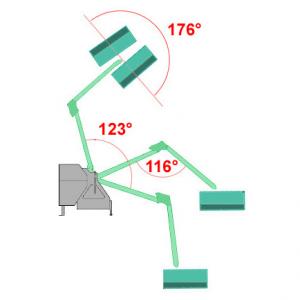 Trincia GEO a braccio Decespugliatrice AM 60