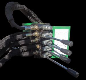 Trinciasiepi GEO con braccio BRC 120