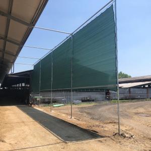 Telo di protezione per stalle e allevamenti, altezza 1,00m