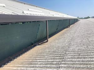 Telo di protezione per stalle e allevamenti, altezza 2,00m
