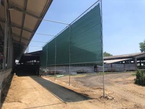 Telo di protezione per stalle e allevamenti, altezza 4,00m