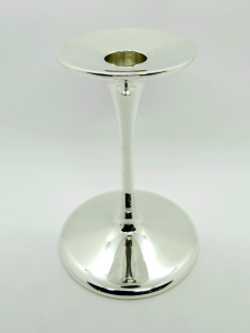 Candelabro in Argento 800 stile moderno liscio