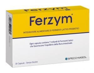 FERZYM CAPSULE - INTEGRATORE ALIMENTARE PER FAVORIRE L'EQUILIBRIO DELLA FLORA INTESTINALE