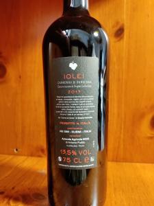 Iolei Cannonau di Sardegna Doc 2019 cl.75