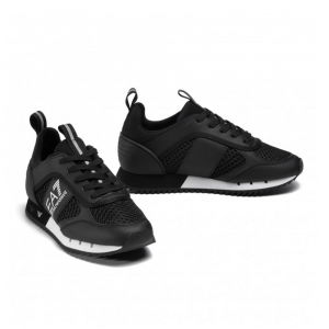Emporio Armani Sneakers Sportiva Nera da Uomo