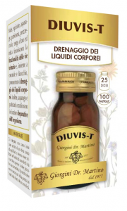 DR. GIORGINI DIUVIS-T 100 PASTIGLIE - INTEGRATORE PER IL DRENAGGIO DEI LIQUIDI CORPOREI