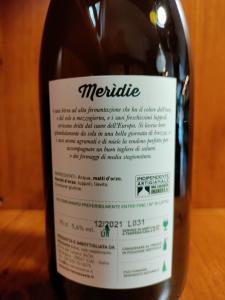 Meridie Birra Artigianale Birrificio Mezzavia cl.75