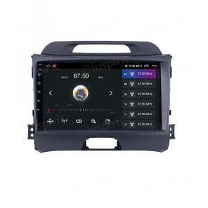 ANDROID 10 autoradio navigatore per Kia Sportage Car Play Android Auto 2010-2015 GPS USB WI-FI Bluetooth 4G LTE
