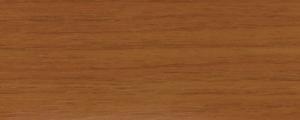 Profilo Adesivo ZEROCURVE in Alluminio rivestito con pellicola in Teak Indonesiano - LARGHEZZA: 4,0cm - ALTEZZA: 90cm - Scegli tu le misure!