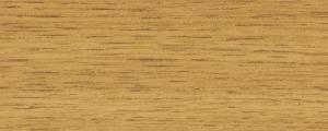 Profilo Coprigiunto in Alluminio rivestito con pellicola Rovere Chiaro - LARGHEZZA: 2,6cm - ALTEZZA: 270cm