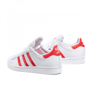 Adidas Superstar Love Bianco Rosso Unisex