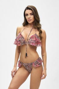Bikini Triangolo e slip brasiliano volant Mantra Effek