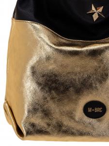 M BRC Borsa a Tracolla Oro Nera