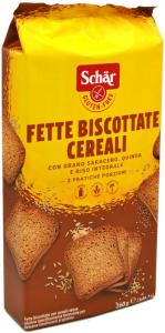 SCHAR FETTE BISCOTTATE AI CEREALI 260G