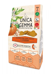 Cuoricini con Zucca e Zenzero - Snack Senza Glutine