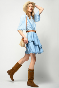 SHOPPING ON LINE PINKO ABITO CORTO IN DENIM LYOCELL NEW  COLLECTION  WOMEN'S  SPRING  SUMMER 2021