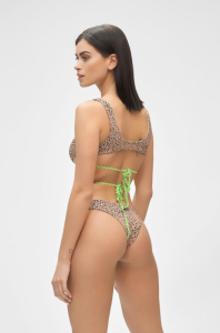 Bikini Reversibile Top e slip retrò regolabile Hot tropic Me Fui Taglia S e L