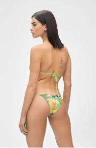 Bikini Reversibile Triangolo e slip Brasiliano regolabile Hot tropic Me Fui