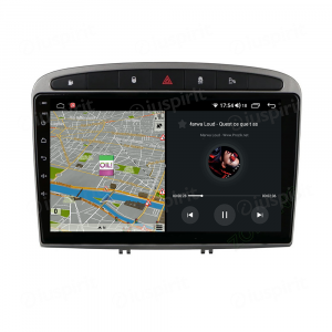 ANDROID 10 autoradio navigatore per Peugeot 308 Peugeot 408 Car Play Android Auto GPS USB WI-FI Bluetooth 4G LTE