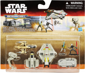 Micro Machines Star Wars Rebels: Deluxe Vehicle Pack Rebellion Rising by Hasbro