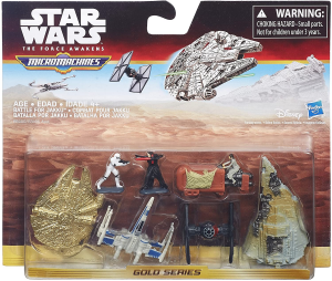 Micro Machines Star Wars The Force Awakens: Deluxe Vehicle Pack Battle for Jakku by Hasbro