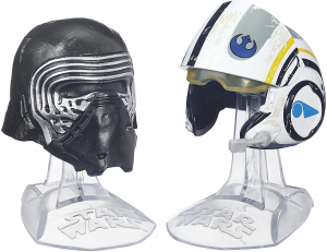 Helmet Collection Star Wars The Black Series:Titanium Pack 01 by Hasbro