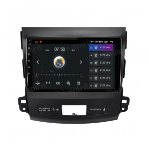 ANDROID 10 autoradio navigatore per Mitsubishi Outlander Citroen C-Cross Peugeot 4007 2006-1012 Car Play Android Auto GPS USB WI-FI Bluetooth 4G LTE