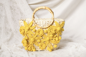 SHOPPING ON LINE PHO FIRENZE MINI BORSA IN PAGLIA CON MANICI IN BAMBU NEW COLLECTION WOMEN'S SPRING SUMMER 2021
