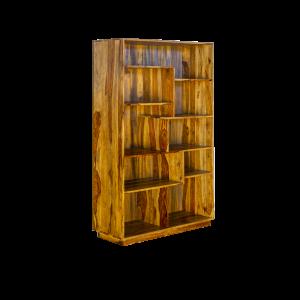 Libreria in legno di sheesham massello  (palissandro indiano)