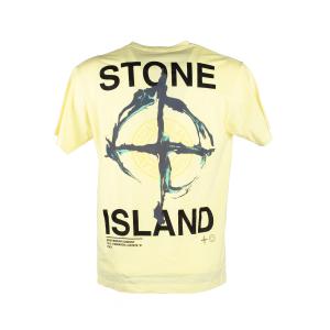T-Shirt Stone Island Giallo Limone