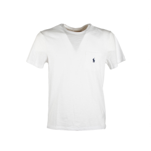 T-Shirt Manica Corta Polo Ralph Lauren Bianca