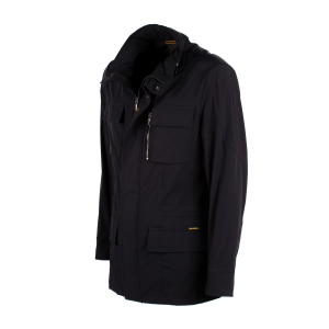 Giubbotto Field Jacket Moorer Manolo Dark Blu