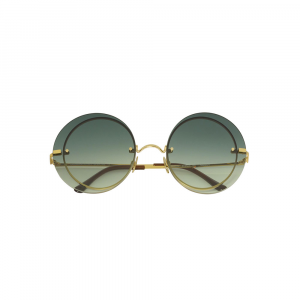 Occhiali da sole verde collezione Narciso ad alta protezione