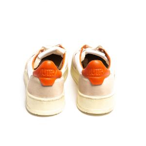 Sneaker Autry logo arancione