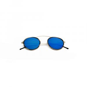 Occhiali da sole specchio blu collezione Met-ro 2 ad alta protezione