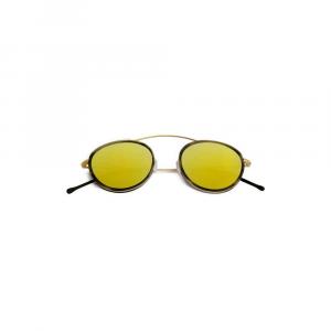 Occhiali da sole specchio oro collezione Met-ro 2 ad alta protezione