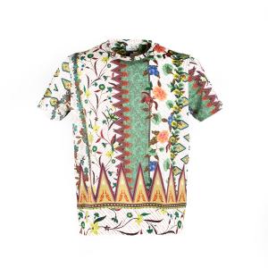 T-shirt Etro Geometrico/Floreale