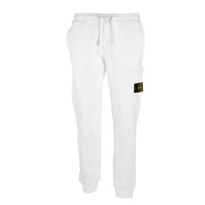 Pantalone jogging Stone Island Bianco