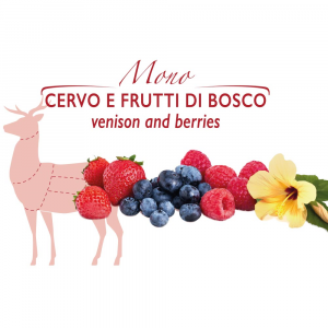 Ossicino - biscottino con Cervo e Frutti di Bosco