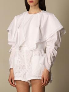 Camicia bianca a girocollo philosophy di lorenzo serafini