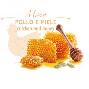 Rotolino - biscottino con Pollo e Miele