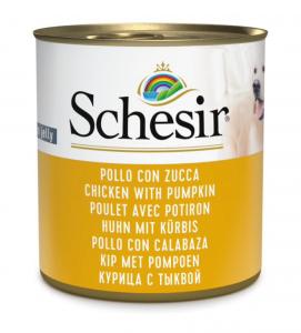 Schesir Dog - Gelatina - 285g x 16 lattine