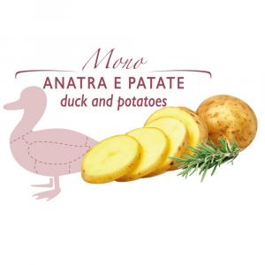 Duetto - biscotto con Anatra e Patate