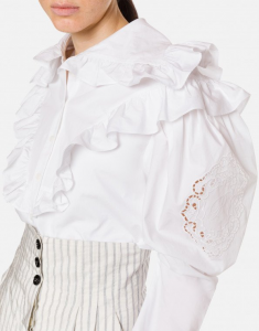 Camicia con ruches philosophy di lorenzo serafini