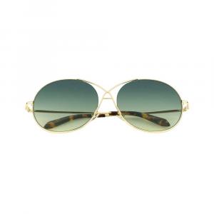 Spektre Gota Occhiali da sole donna lente alta protezione oro-verde
