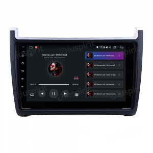ANDROID 10 autoradio navigatore per VW Polo 2009-2015 Car Play Android Auto GPS USB WI-FI Bluetooth 4G LTE