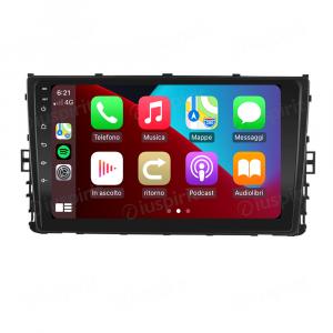 ANDROID 10 autoradio navigatore per VW Polo Passat Jetta Golf Sportvan Alltrack 2018-2020 Car Play Android Auto GPS USB WI-FI Bluetooth 4G LTE
